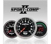 Gauges - 03-07 Ford 6.0L - Auto Meter - 03-07 Ford 6.0L - Sport Comp II - 03-07 Ford 6.0L