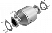 "Exhaust Systems - 2007.5-2018 Dodge 6.7L - MagnaFlow - Dodge 6.7L - MagnaFlow Exhaust - Magnaflow 4"" Stainless Steel Direct Fit Rear Catalytic Converter - 07*-12 Dodge 6.7L"