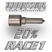 Fuel Pumps, Injection Pumps and Injectors - GM Duramax LBZ - Injectors - GM Duramax LBZ - Industrial Injection - Industrial Injection -  20% over RACE1 Performance Nozzle - 06-07 GM Duramax LBZ