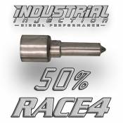 Fuel Pumps, Injection Pumps and Injectors - GM Duramax LBZ - Injectors - GM Duramax LBZ - Industrial Injection - Industrial Injection -  50% over RACE4 Performance Nozzle - 06-07 GM Duramax LBZ