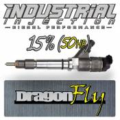 Chevy / GMC - 2007 - 2010 6.6L Duramax LMM - Industrial Injection - Industrial Injection - Factory Reman 15% Over Dragon Fly Performance Injector - 07-10 LMM Duramax 6.6L