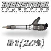 Chevy / GMC - 2007 - 2010 6.6L Duramax LMM - Industrial Injection - Industrial Injection - Factory Reman 20% Over R1 Performance Injector - 07-10 LMM Duramax 6.6L