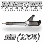Chevy / GMC - 2007 - 2010 6.6L Duramax LMM - Industrial Injection - Industrial Injection - Factory Reman 100% Over R6 Performance Injector - 07-10 LMM Duramax 6.6L