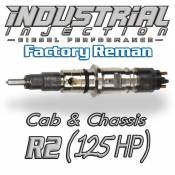 Injectors - Dodge Diesel Injectors - Industrial Injection - Industrial Injection - Factory Reman 6.7L RACE2 38 LPM HONED INJECTOR 2007.5-2011 (125HP) - Cab & Chassis