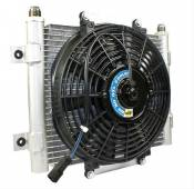 "BD Diesel Performance - BD - Xtruded Double-Stack Transmission Oil Cooler with Fan - 1/2"" Tube - Dodge & Ford - Image 3"