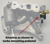 Ford - Garrett / AiResearch Turbochargers - GTP38 Turbocharger Exhaust Back Pressure (EBP) Valve