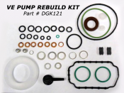 1988 - 1993 5.9L Dodge 12 Valve - VE6 Injection Pumps - 88-93 Dodge 5.9L - Interstate-McBee - Rebuild Kit for Bosch VE Pump Dodge 5.9L 12V Cummins