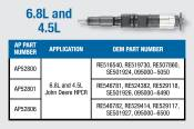 Alliant Power - Alliant Power - 4.5L and 6.8L Reman CR Injector - AP52806
