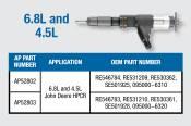 Alliant Power - Alliant Power - 4.5L and 6.8L Reman CR Injector - AP52802