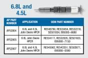 Alliant Power - Alliant Power - 4.5L and 6.8L Reman CR Injector - AP52807