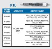 Alliant Power - Alliant Power - 8.1L Reman CR Injector - AP50904