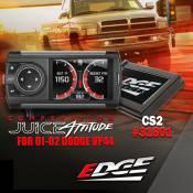 Electronic Performance - 98.5-02 Dodge 24V - Edge Products - 98.5-02 Dodge 24V - Edge Products - Edge Competition Juice w/ Attitude CS2 - 2001-2002 Dodge 5.9L - 31601