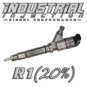 Industrial Injection - Industrial Injection - Industrial Injection - Industrial Injection - Reman R1 100HP 6.6L 2004.5-2005 LLY Duramax Injector 23LPM 20% Over