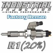 Industrial Injection - Industrial Injection - Industrial Injection - Industrial Injection - Factory OEM Reman R1 100HP 6.6L 01-04 LB7 Duramax Injector 20% Over