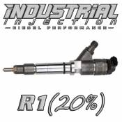 Industrial Injection - Industrial Injection - Industrial Injection - Industrial Injection - Reman R1 100HP 6.6L 2006-2007 LBZ Duramax Injector