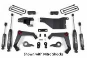 """Zone Offroad Products - 3"""" Adventure Series Lift System (Nitro Shocks) - 2001-10 Chevy/GMC 2500HD/3500HD 4WD (C31) - Image 2"""