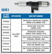 Isuzu - 4HK1 - 6HK1 - 4HK1 - 6HK1 Injectors - Alliant Power - Alliant Power - Isuzu 6HK1 Remanufactured Injector - AP53805