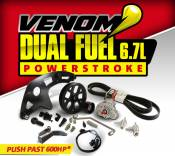BD Diesel Power - BD - Venom Dual Fuel Kit c/w CP3 Pump - Ford 11-16 6.7L Powerstroke