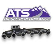 2007 - 2018 6.7L Dodge Cummins - Exhaust Systems - Dodge 6.7L - ATS - Pulse Flow Manifolds - Dodge 6.7L