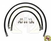 "Deviant Race Parts - Deviant 73411 1/2"" LEAK FREE Transmission Cooler Repair Lines For 01-05 GM Duramax (Allison 1000)"