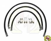 "2004 - 2005 6.6L Duramax LLY - Transmissions - GM Duramax LLY - Deviant Race Parts - Deviant 73411 1/2"" LEAK FREE Transmission Cooler Repair Lines For 01-05 GM Duramax (Allison 1000)"