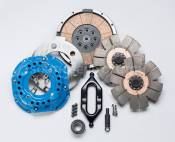 South Bend Clutch - Heavy Duty Clutch Kits - 98.5-02 Dodge 24V - Competition Dual Disc - 98.5-02 Dodge 24V - South Bend Clutch - South Bend Clutch 950HP Competition Dual Disc Clutch (No Hydraulics) - 1994-2004 Dodge 5.9L Cummins with NV4500
