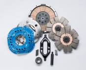 South Bend Clutch - Heavy Duty Clutch Kits - 98.5-02 Dodge 24V - Competition Dual Disc - 98.5-02 Dodge 24V - South Bend Clutch - South Bend Clutch 850HP Competition Dual Disc Clutch (No Hydraulics) -  2000.5-2005.5 Dodge HO NV5600