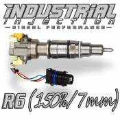 Fuel System Components - 03-07 Ford 6.0L - Injectors - 03-07 Ford 6.0L - Industrial Injection - Industrial Injection - Reman R6 Hybrid 150% Over 6.0L 2003-2007 Ford Injector