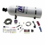 Nitrous Express - NX Diesel Stacker 4 with .157 Nitrous Solenoid - 15LB Bottle - 300HP