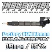 Chevy / GMC - 2011 - 2017 6.6L Duramax LML LGH - Industrial Injection - Factory OEM Remanufactured Dragon Fly 15% Over 6.6L 2011-2016 LML Duramax Injector 19LPM
