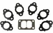 Cummins Diesel - Exhaust Manifolds - BD Diesel Performance - BD - T3 Exhaust Manifold Gasket Set - 98.5-07 Dodge 5.9L