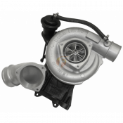 Fleece Performance Engineering - 63mm Billet LB7 Cheetah Turbocharger - 2001-2004 LB7 Duramax