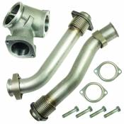 Turbochargers - 99-03 Ford 7.3L - Turbocharger Accessories - 98-03 Ford 7.3L - BD Diesel Performance - BD UpPipes for 1999.5 - 2003 Ford 7.3L