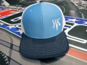 Apparel - Performance Diesel Parts - White Knight WK Cap - Black / Blue / White