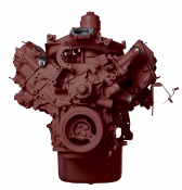 Reviva Remanufactured Diesel Engines - Long Block Engine - 2008-2010 Ford 6.4L F-250-F550 MT With ARP Head Studs