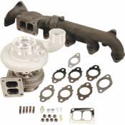 Turbochargers - Dodge 6.7L - BD - Performance Turbochargers - Dodge 6.7L - BD Diesel Performance - BD -Iron Horn 6.7L Cummins Turbo Kit S364SXE/80 0.91AR Dodge 2007.5-2018