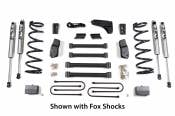 "2007 - 2018 6.7L Dodge Cummins - Suspension, Lift & Steering  - Dodge 6.7L - BDS Suspension - 6"" Suspension Lift Kit with Leaf-Springs (FOX Shocks 3.5"" Axle) - 2009-2013 Dodge 3/4 & 1 Ton 4WD Diesel"