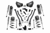 "BDS Suspension - 4"" 4-Link Suspension System (FOX Shocks) - 2014-2018 Dodge RAM 2500 4WD Diesel"