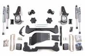"Lift Kits / Suspension - Chevy / GMC Lift Kits - BDS Suspension - 4-1/2"" Suspension Lift Kit (FOX Shocks) - 01-10 Chevy/GMC HD 4WD"