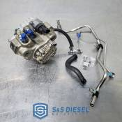 Fuel Pumps, Injection Pumps and Injectors - GM Duramax LML LGH - CP4 to CP3 Conversion - GM duramax LML LGH - S&S Diesel Motorsport - LML CP3 conversion kit w/pump - Offroad Use Only - No DPF - Tuning Required