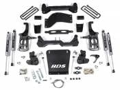 "BDS Suspension - 4-1/2"" Suspension Lift Kit - 11-19 Chevy/GMC HD 2WD 4WD"