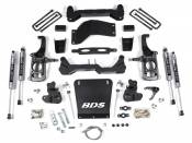 "Steering, Suspension and Lift - GM Duramax LML - Lift Kits and Related Parts - 2011-2016 GM - BDS Suspension - 4-1/2"" Suspension Lift Kit - 2011-2019 Chevy/GMC HD 2WD 4WD"