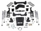 "Steering, Suspension and Lift - GM Duramax LML - Lift Kits and Related Parts - 2011-2016 GM - BDS Suspension - 4-1/2"" Suspension Lift Kit (FOX Shocks) - 11-19 Chevy/GMC HD 2WD 4WD"