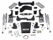 "BDS Suspension - 4-1/2"" Suspension Lift Kit (FOX Shocks) - 11-19 Chevy/GMC HD 2WD 4WD"