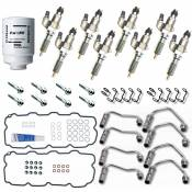 Chevy / GMC - Performance Diesel Injectors - LB7 Complete Injector Replacement Kit (New Bosch) - 2001-2004 GM 6.6L Duramax