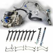 Fuel Pumps, Injection Pumps and Injectors - GM Duramax LML LGH - CP4 to CP3 Conversion - GM duramax LML LGH - Performance Diesel Parts - Full CP4 to CP3 Conversion Kit (50 State CARB) - 2011-2016 GM 6.6L LML Duramax