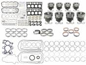 2003 - 2007 6.0L Ford Power Stroke - Engine Components - 03-07 Ford 6.0L - MAHLE - MAHLE - Heavy Duty Engine Overhaul Kit - 2004-2007 Ford 6.0L F250-F550 (20mm Head Dowel)