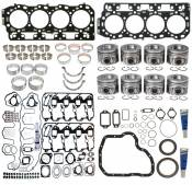 2006 - 2007 6.6L Duramax LBZ - Heads, Head Gaskets & Bolts - GM Duramax LBZ - MAHLE - MAHLE - Heavy Duty Engine Overhaul Kit - 2006-2010 GM 6.6L Duramax 2500-3500 (Vin 6)