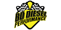 "BD Diesel Performance - BD - Xtruded Double-Stack Transmission Oil Cooler with Fan - 5/8"" Tube - 2001-2010 GM Allison 1000"
