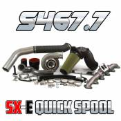 Industrial Injection - Industrial Injection -  S467.7 SX-E Quick Spool Cummins 6.7L 2nd Gen Turbo Swap Kit (2010-2012) - Image 2